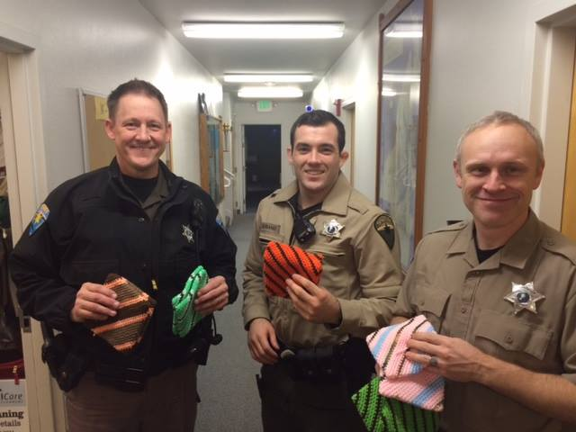 Holiday Hot Pads At The Sheriff's Office