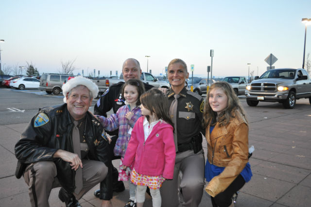 "The 14th Annual Kitsap County ""Shop With A Cop."""