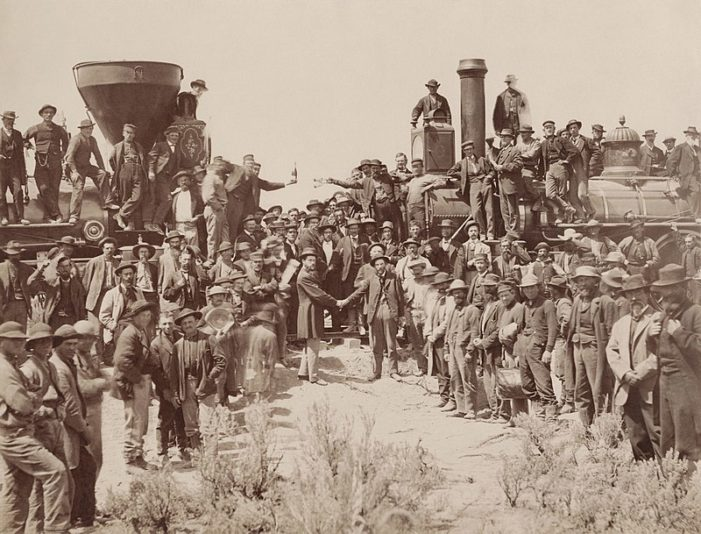 Presidential Message on the 150th Anniversary of the Completion of the Transcontinental Railroad
